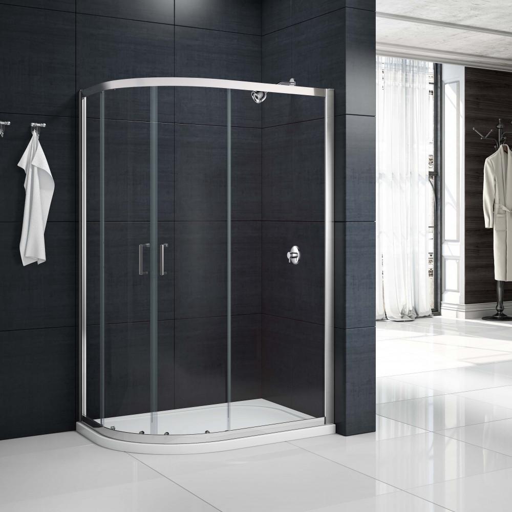 Merlyn MBox 2 Door Offset Quadrant Shower Enclosure 1200 X 900mm