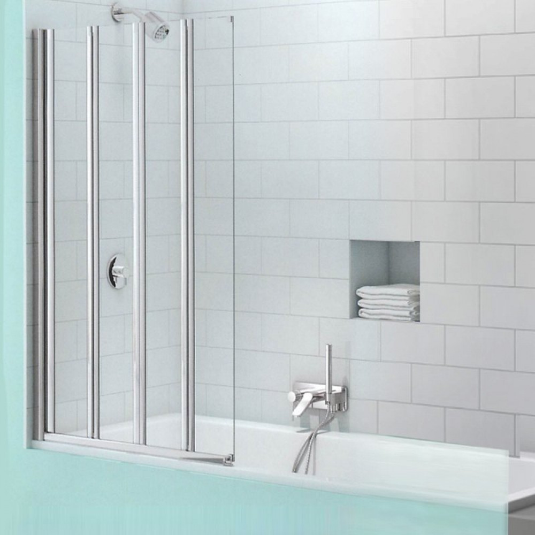 Merlyn SecureSeal 4 Fold Bath Screen