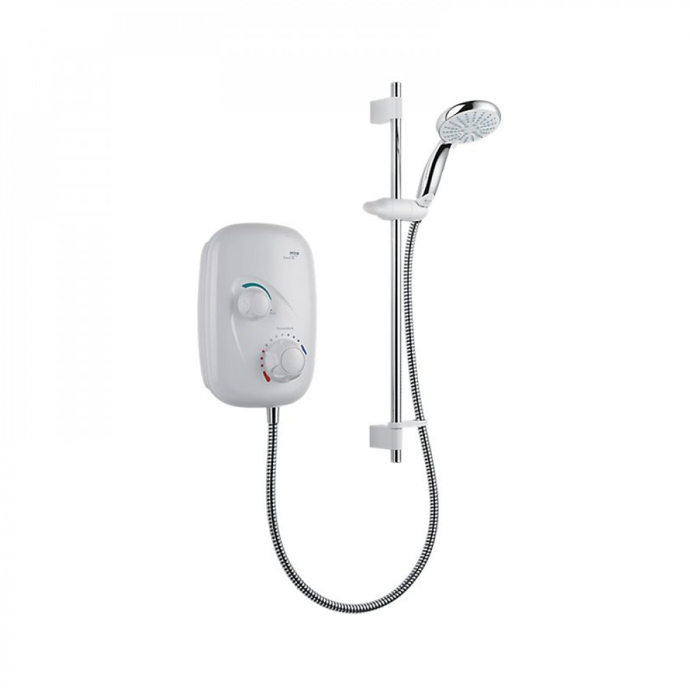 S2Y-Mira Event XS Manual Power Shower White & Chrome-1