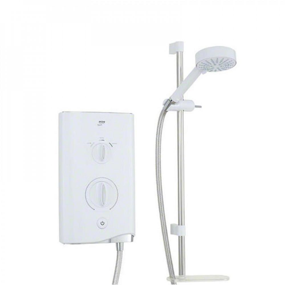 STY-Mira Sport Electric Shower 10.8kw White & Chrome-1