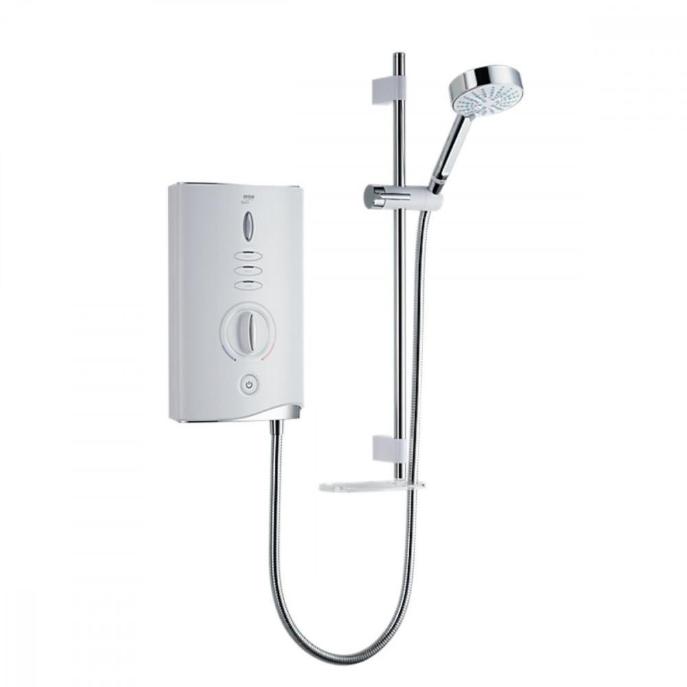 Mira Sport Max 10.8KW Electric Shower White & Chrome