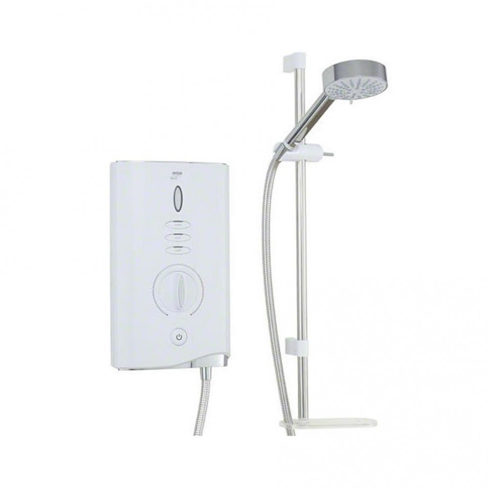 STY-Mira Sport Max 9.0KW Electric Shower White & Chrome-1