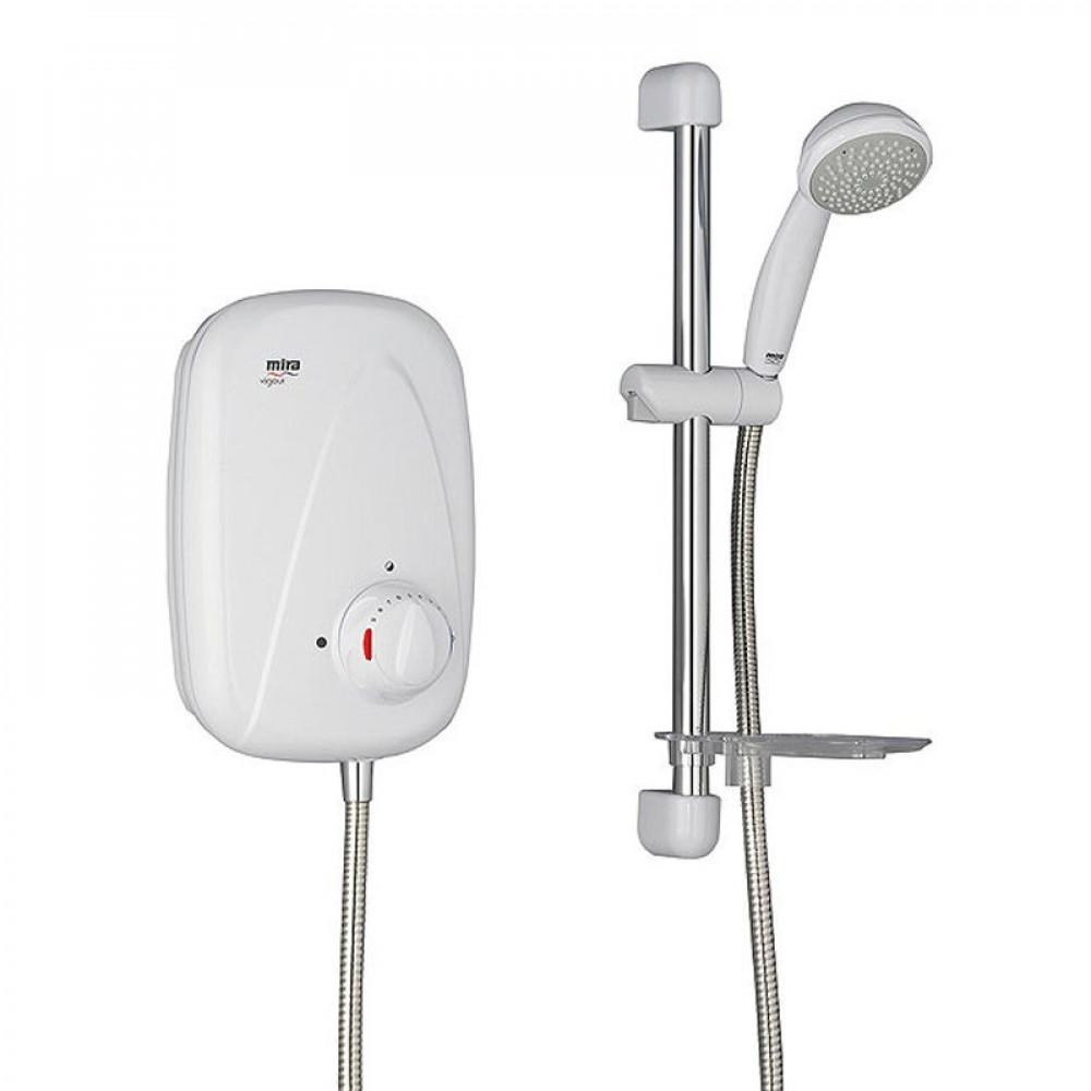 STY-Mira Vigour Power Shower Manual White & Chrome-1