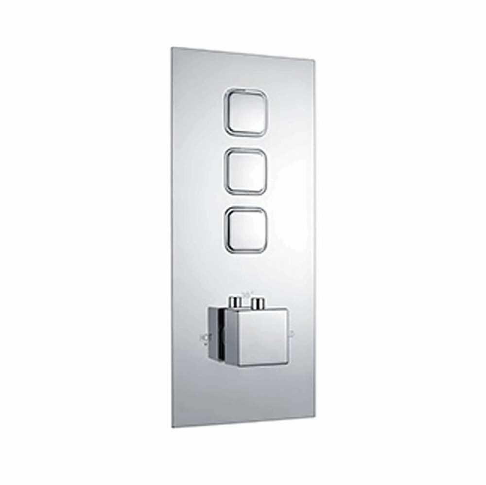 Niagara Observa Triple Push Button Shower Valve