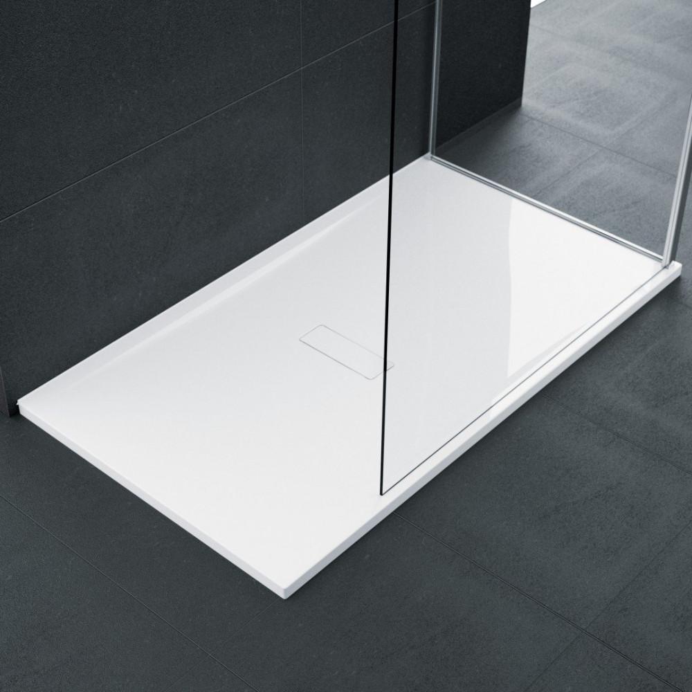 Novellini Custom 1200 x 900mm Low Profile Level Access Shower Tray