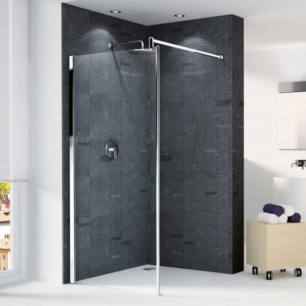 Novellini Go 1 Walk in 780mm Shower Panel