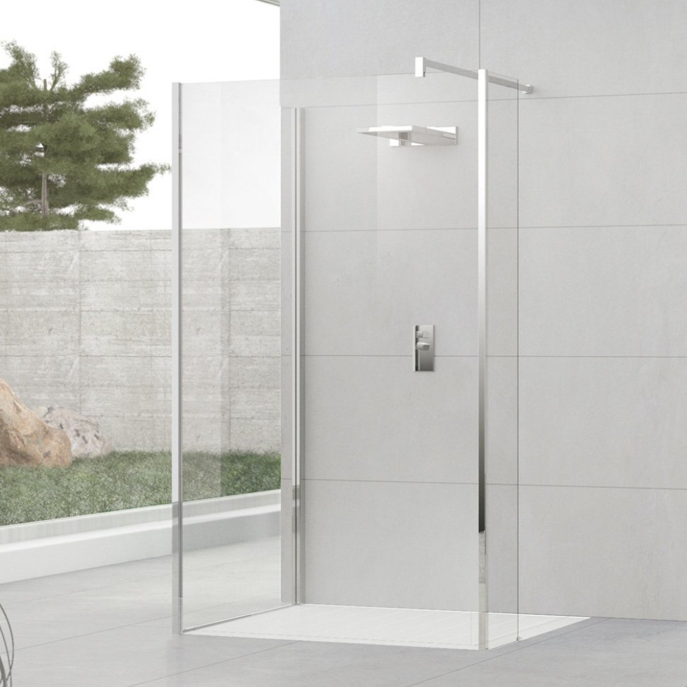 Novellini Kuadra H9 1100mm Walk in Shower Enclosure