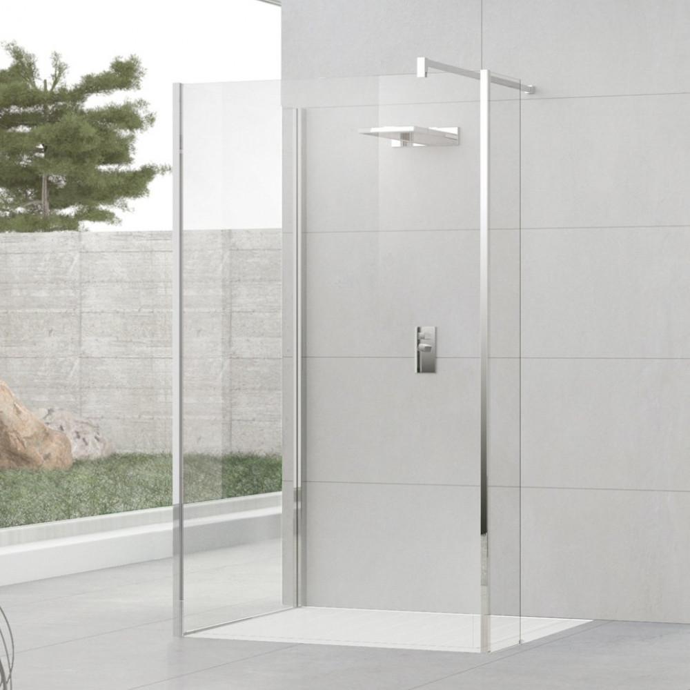 Novellini Kuadra H9 900mm Walk-in Shower Enclosure