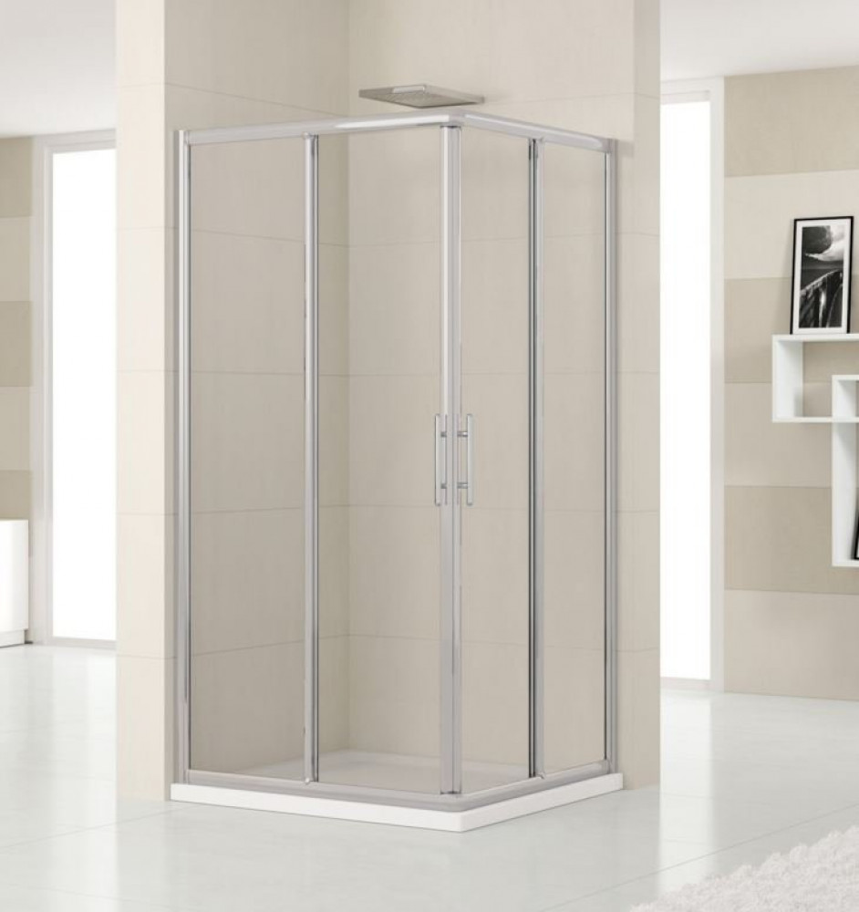 Novellini Lunes 1000mm Corner Entry Shower Enclosure