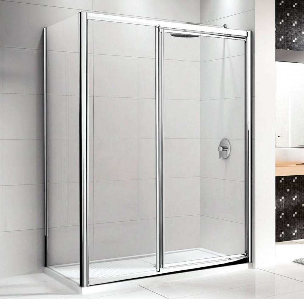 Novellini Lunes In-Line Pivot Shower Doors