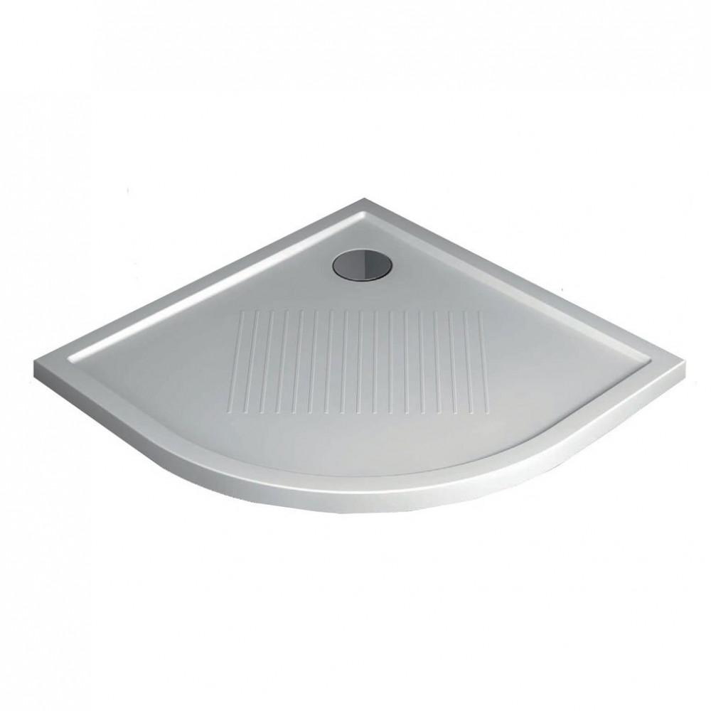 Novellini Olympic Plus 1000mm x 1000mm Quadrant Shower Tray