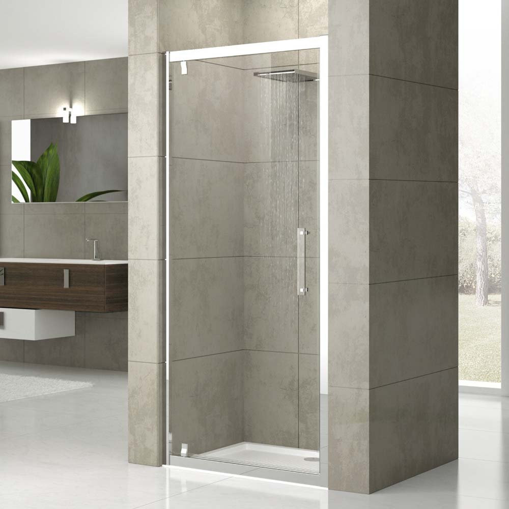 Novellini Rose G Pivot Shower Door 700mm