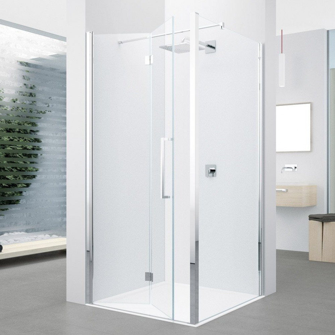 Novellini Young 1BS 880-920mm Folding Shower Door