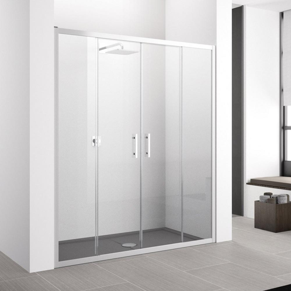 Novellini Zephyros 2A Sliding Shower Doors 1560-1620mm
