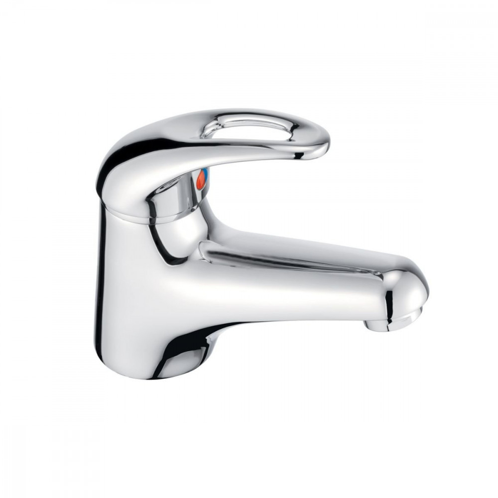 Pegler Izzi Basin Mixer with Click Waste 4G4094