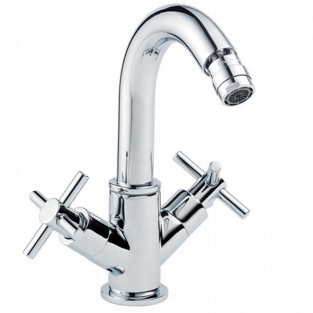Pegler Xia Bidet Mixer With Pop UP Waste