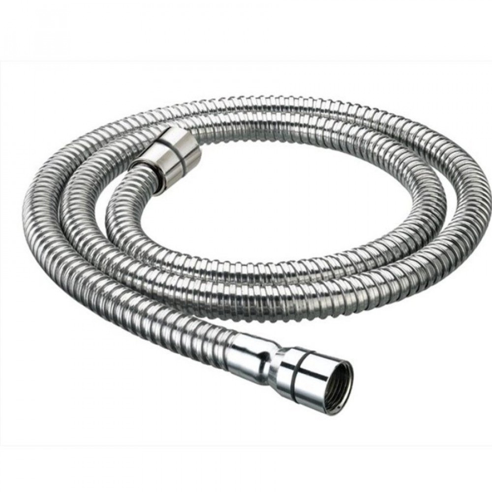 Redring 1.2 metre chrome shower hose