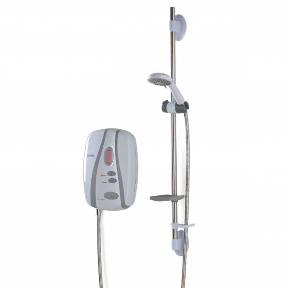 Redring Selectronic 8.5KW Premier Plus Thermostatic Shower with Extended Accessories