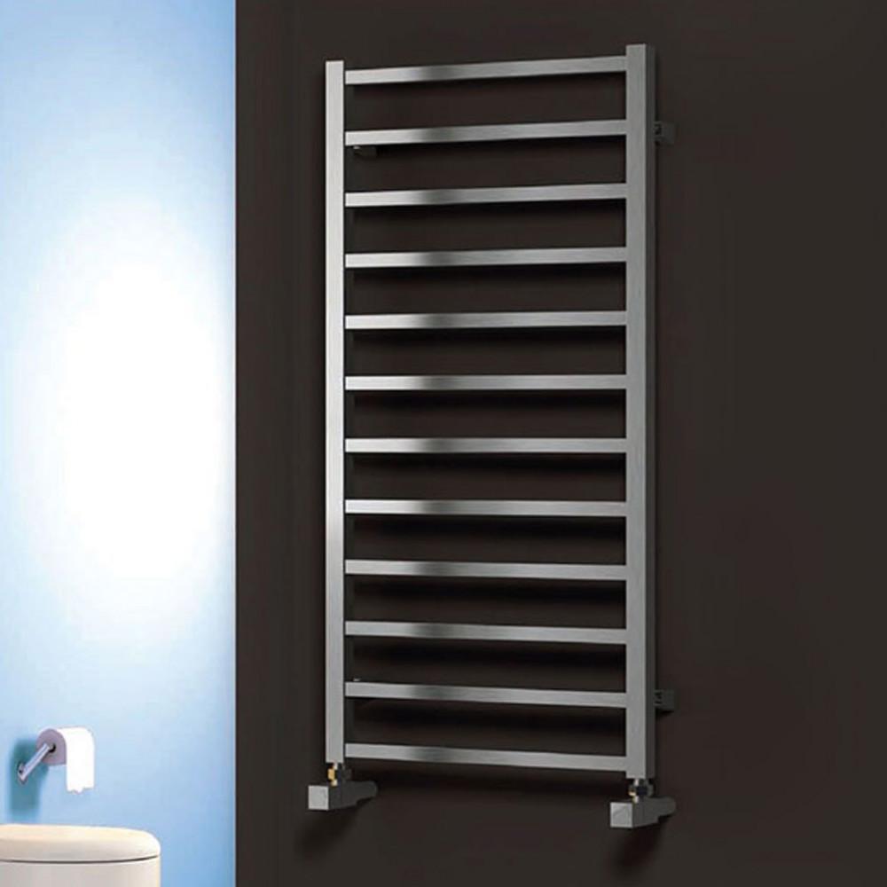 Reina Arden Stainless Steel Towel Radiator 500 x 500mm