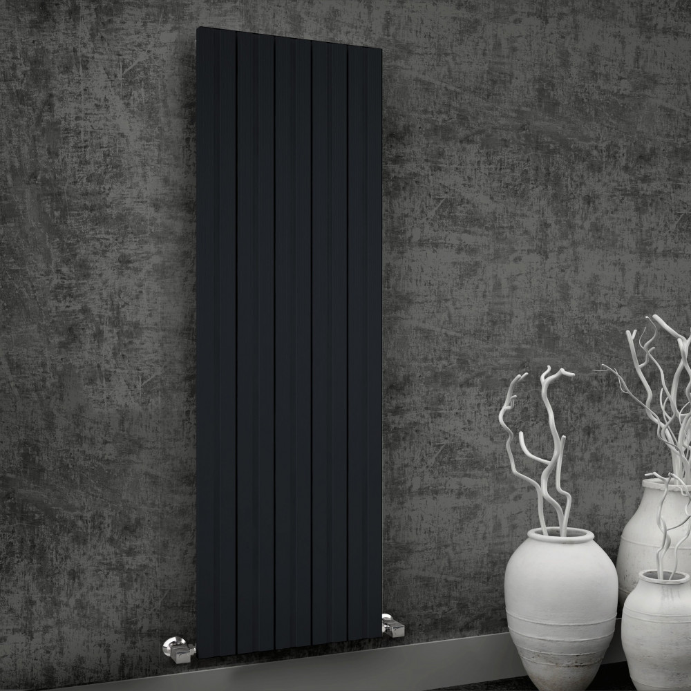 Reina Bova Aluminium Vertical Single Radiator 1800 x 280mm