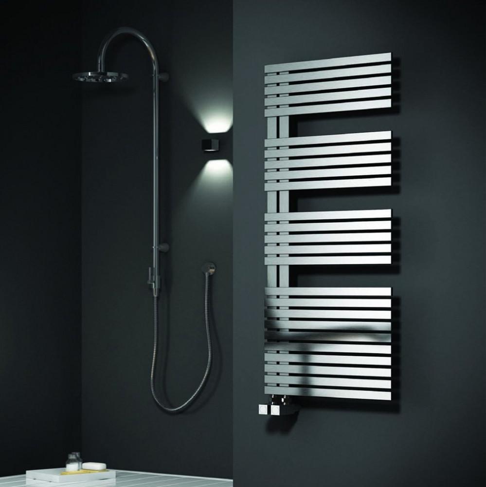 Reina Entice Stainless Steel Towel Radiator 1200 x 500mm