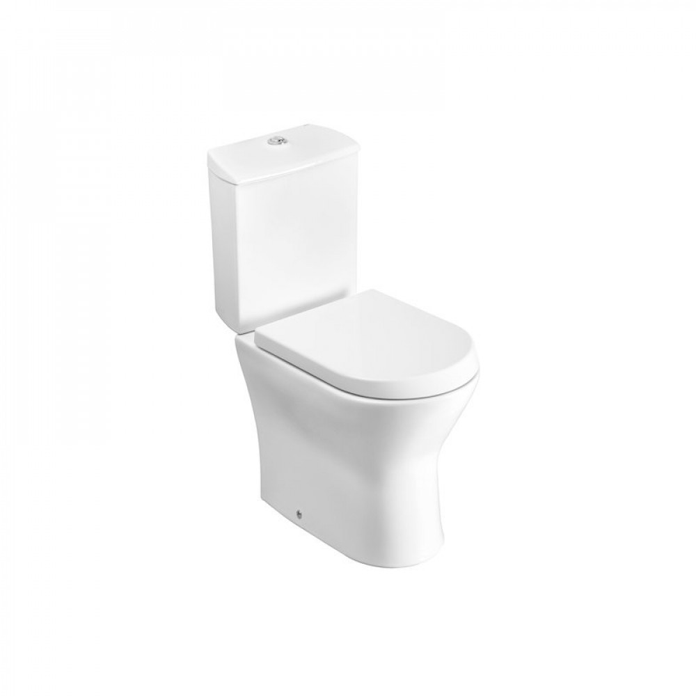 S2Y-Roca Nexo Close Coupled Open Back WC Pan & Cistern-1