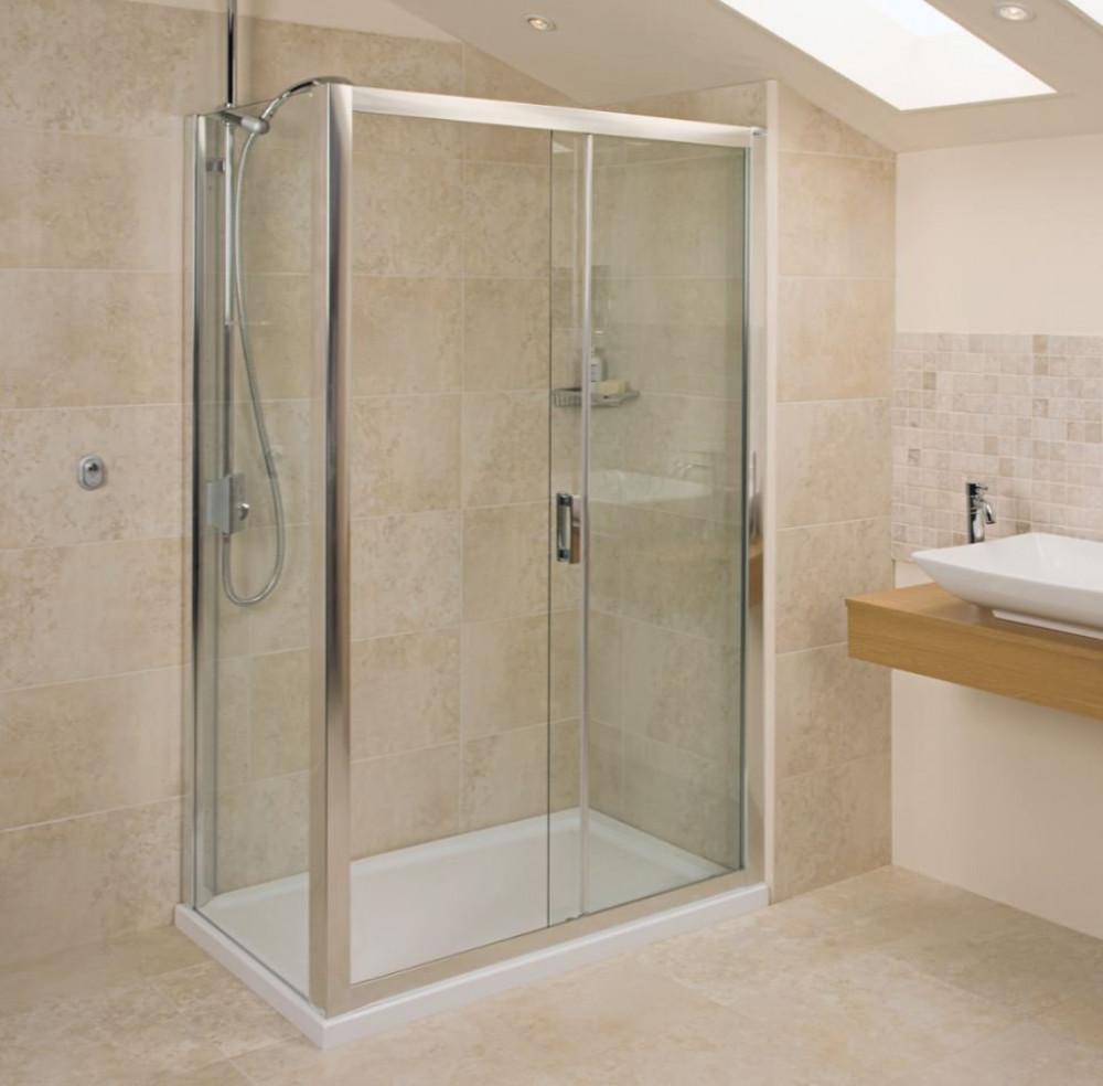 Roman Embrace 1200mm Sliding Shower Door Et1213s