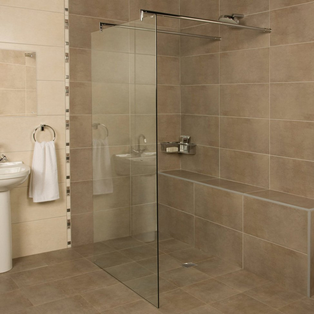 Roman Embrace 927mm Wetroom Linear Panel