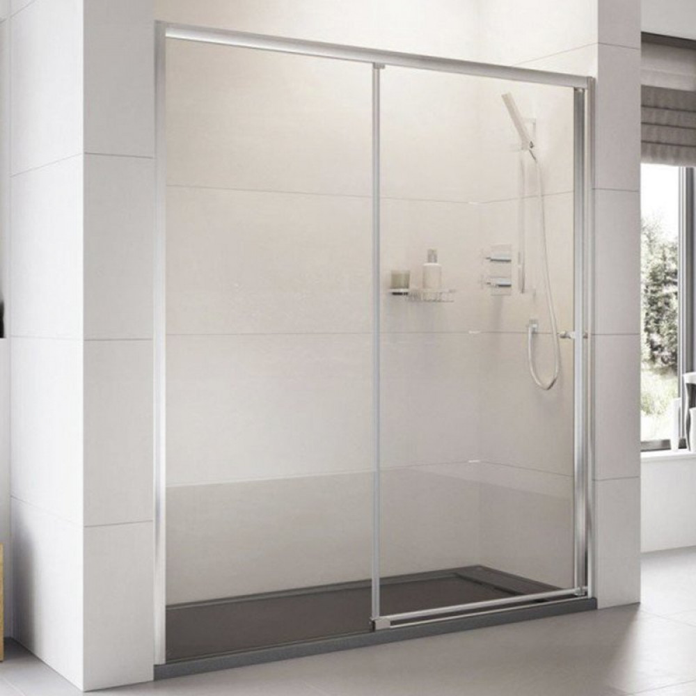 Roman Haven 1200mm Level Access Right Hand Sliding Shower