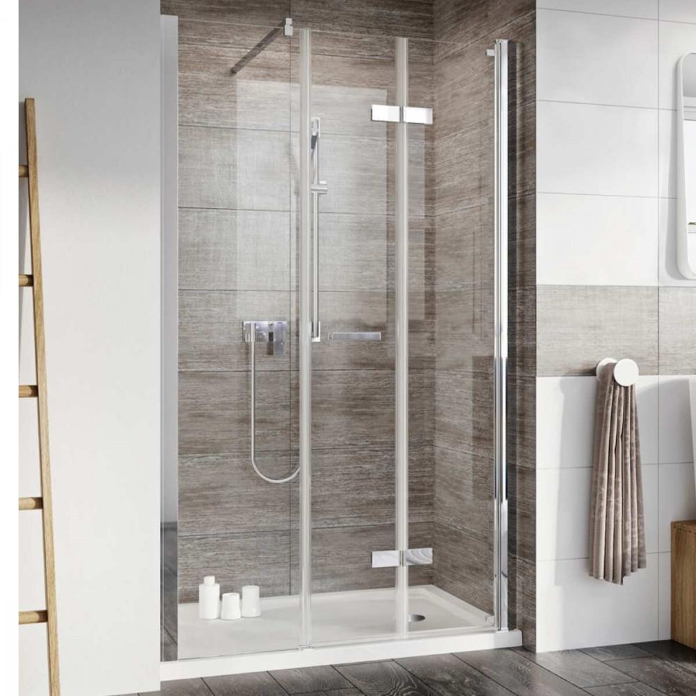Roman Innov8 Bifold & In-Line 1500mm Shower Door