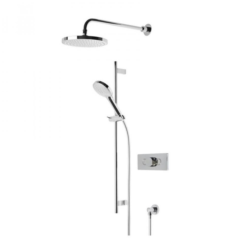 Roper Rhodes Event Click Round Shower System SVSET147