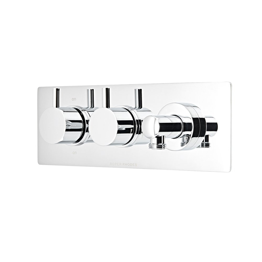 S2Y-Roper Rhodes Event Round Thermostastic Dual Function Shower Valve With Outlet-0
