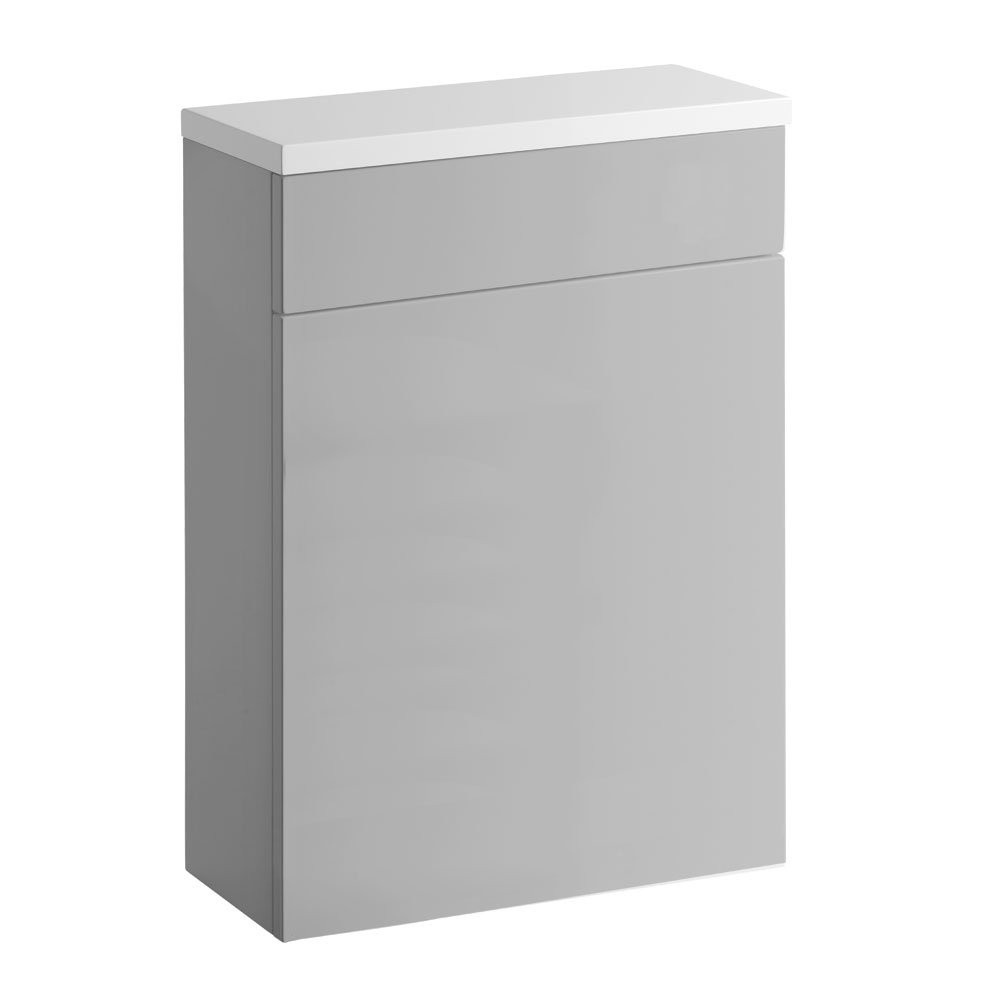 Roper Rhodes Gloss Light Grey 570mm Back to Wall Unit with Worktop