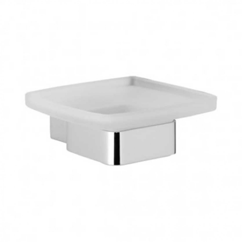 Roper Rhodes Horizon Frosted Glass Soap Dish & Holder