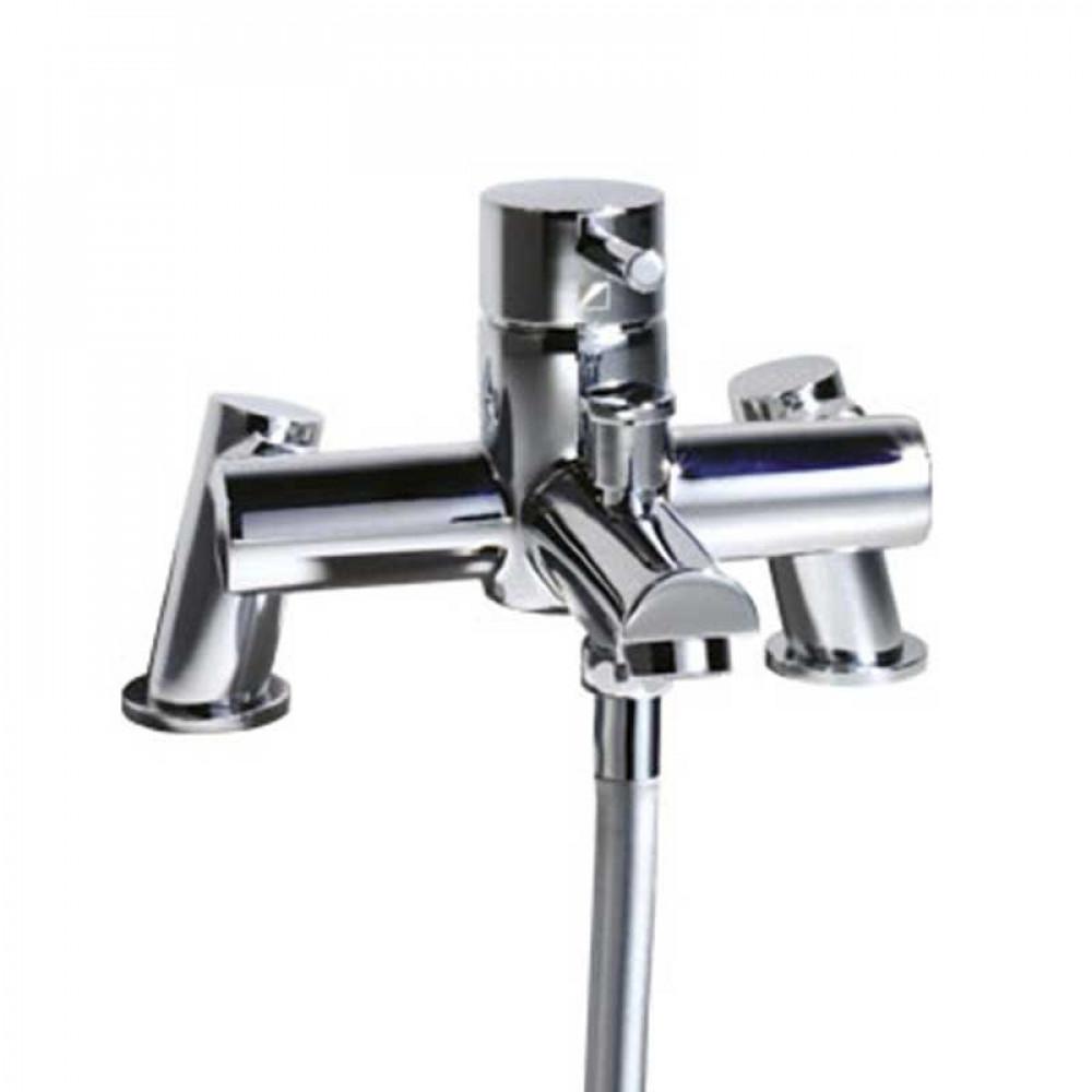 Roper Rhodes Storm Bath & Shower Mixer Single Lever Pillar Mounted Tap | T224002