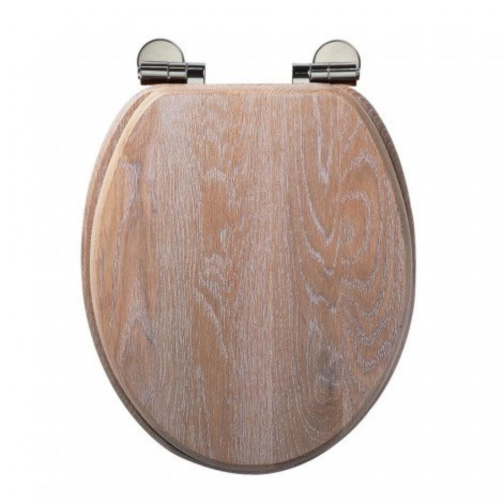 Roper Rhodes Traditional Toilet Seat, Limed oak