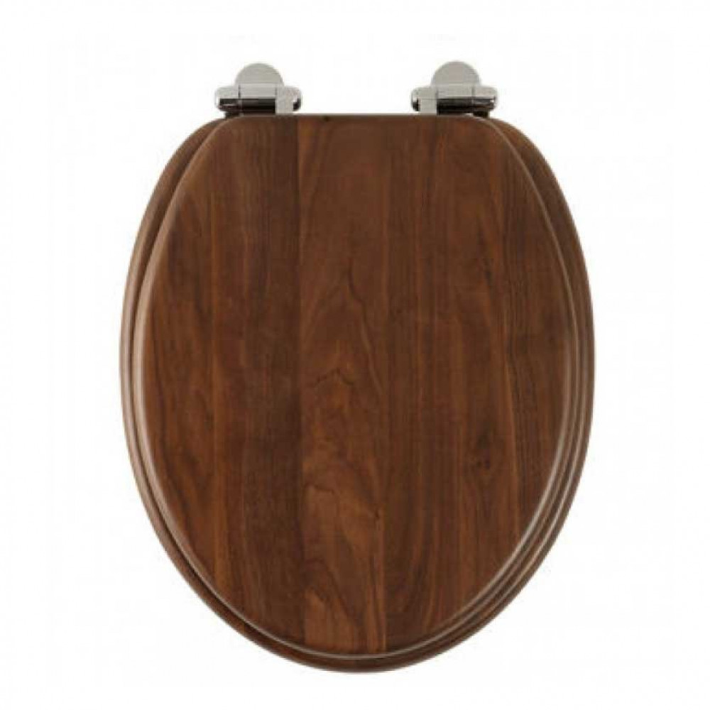 Roper Rhodes Traditional Toilet Seat, Walnut