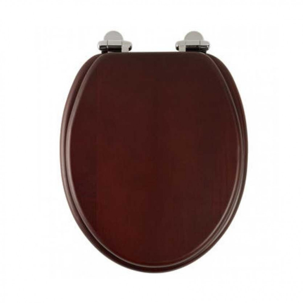Roper Rhodes Traditional Toilet Seat, mahogany