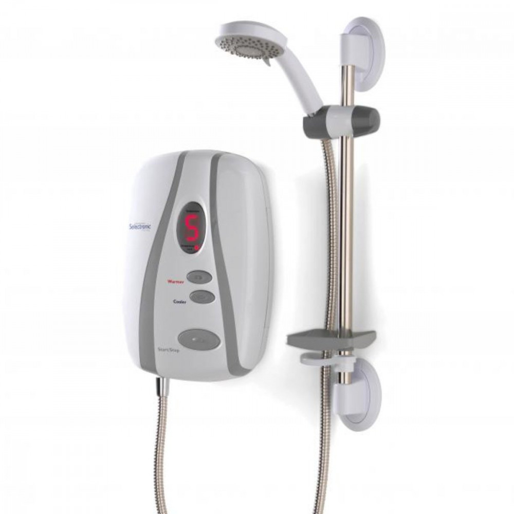 Selectronic Premier Thermostatic Shower Standard accessories 8.5kW