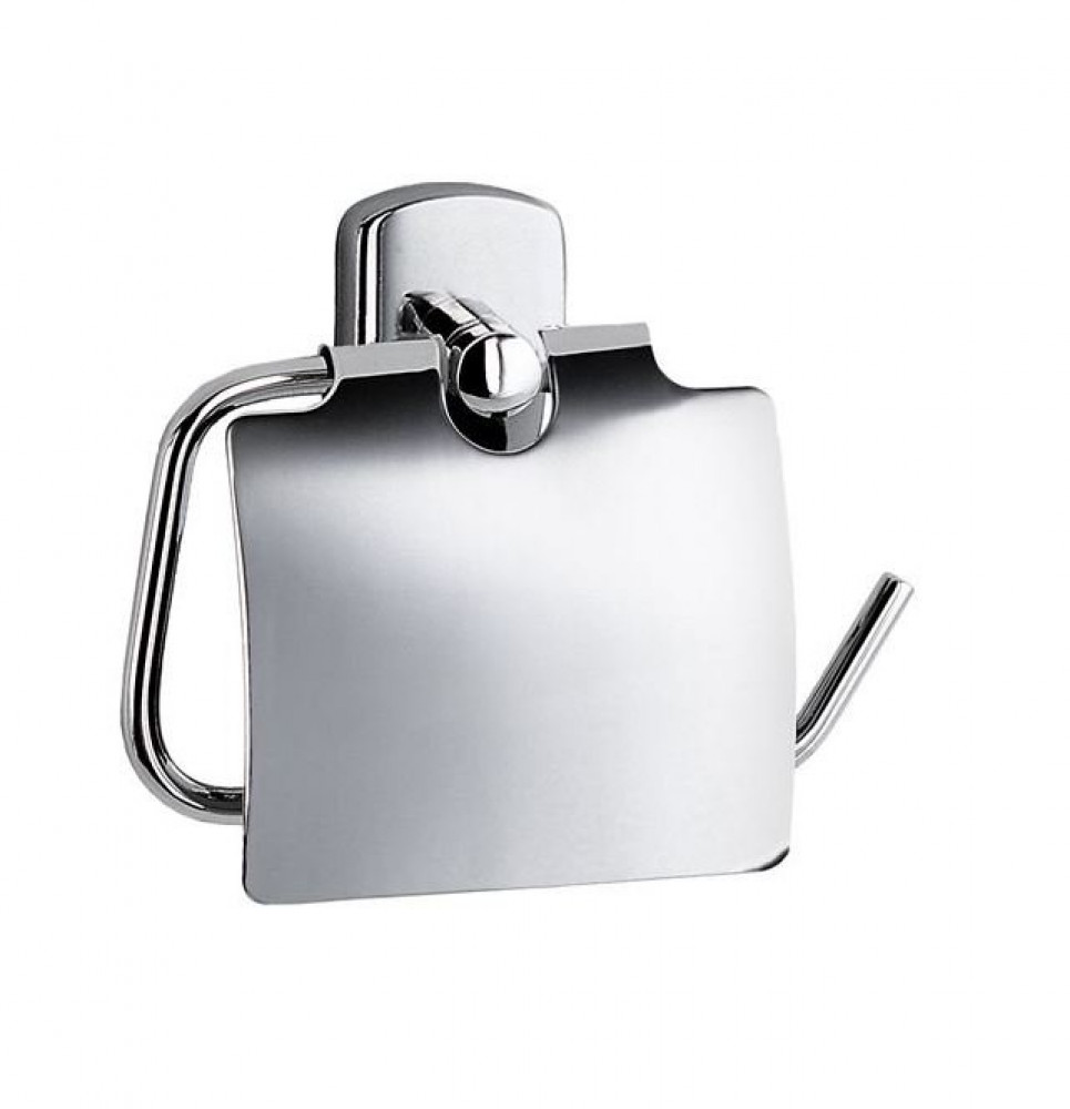 Smedbo Cabin Toilet Roll Holder with Lid