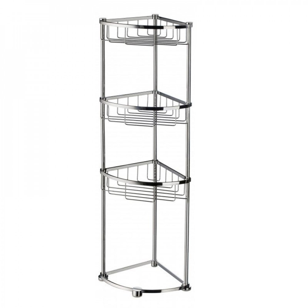 Smedbo Sideline Design Shower Basket 3 Level