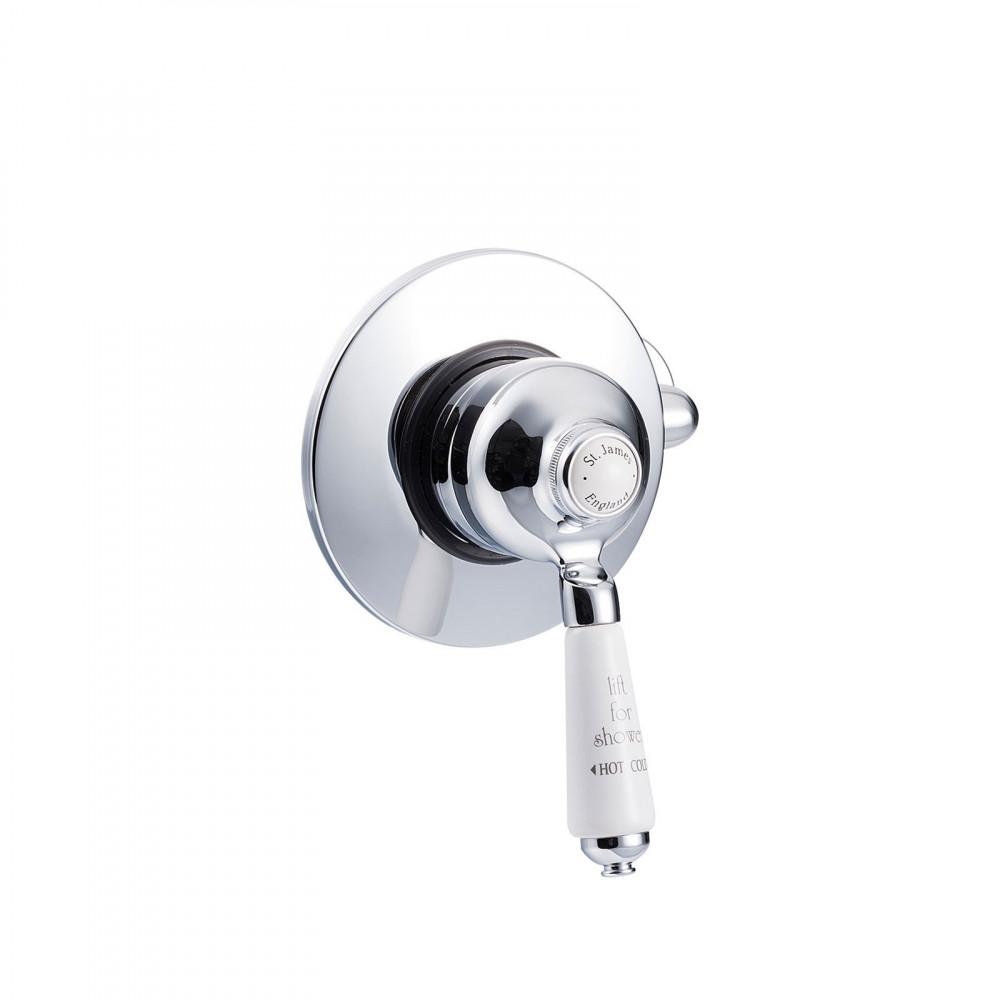 St James Manual Shower Valve Concealed