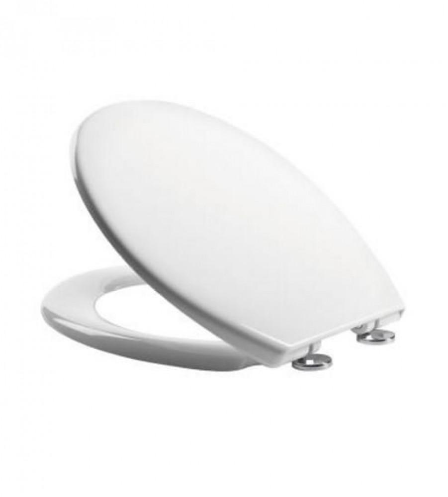 Tavistock Alpine Soft Close White Toilet Seat With Quick Release Hinges