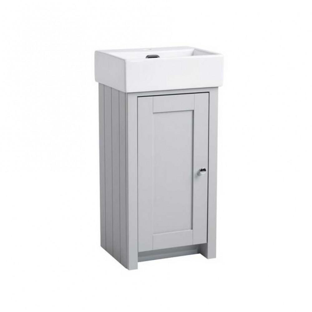 Tavistock Lansdown 400 Cloakroom Unit in Pebble Grey