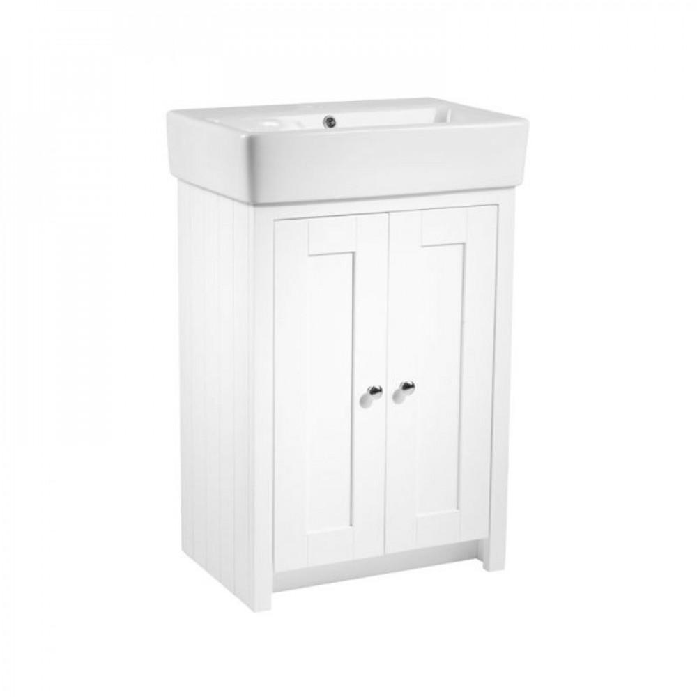 Tavistock Lansdown 550 Freestanding Unit in Linen White