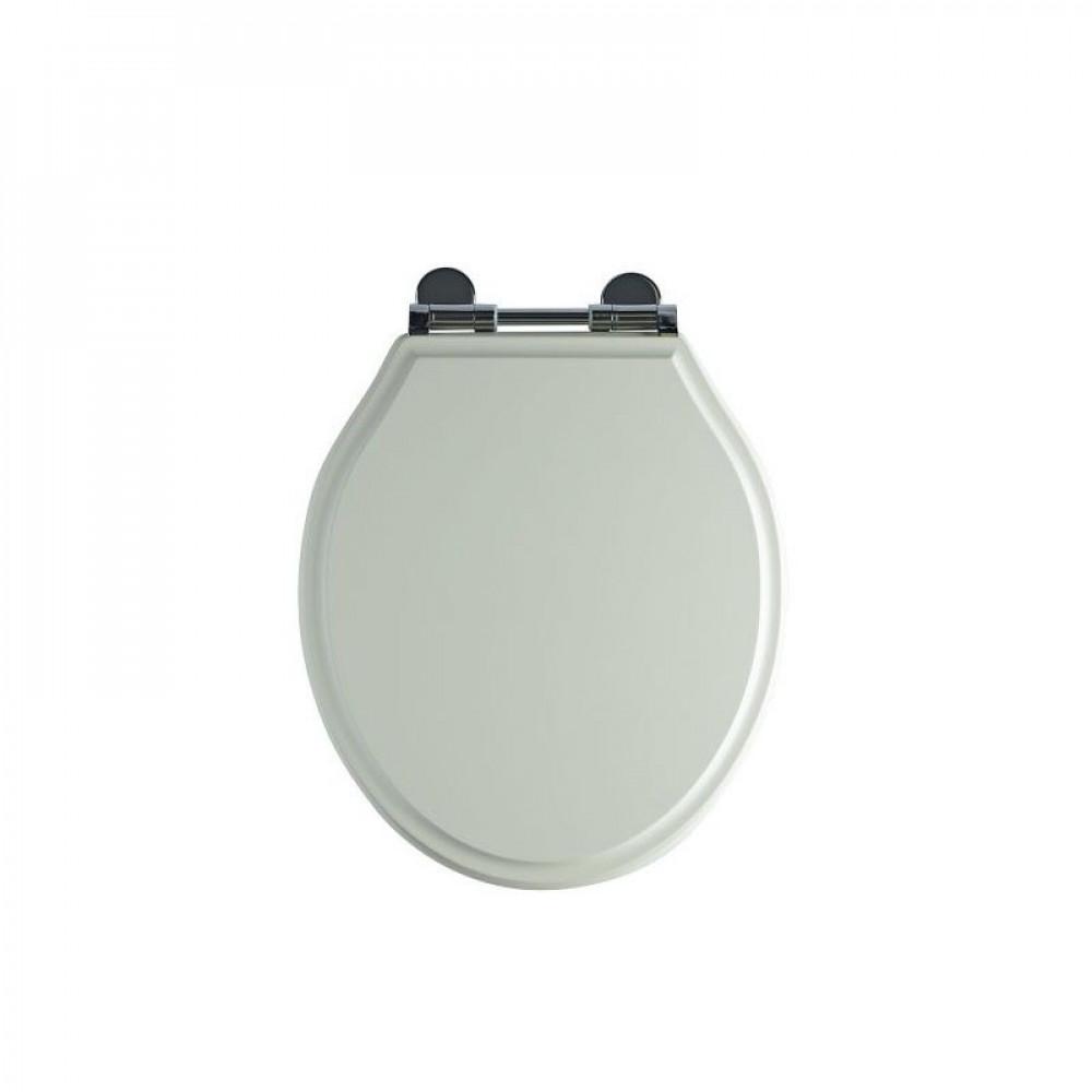 S2Y-Tavistock Linen White Wooden Toilet Seat-1
