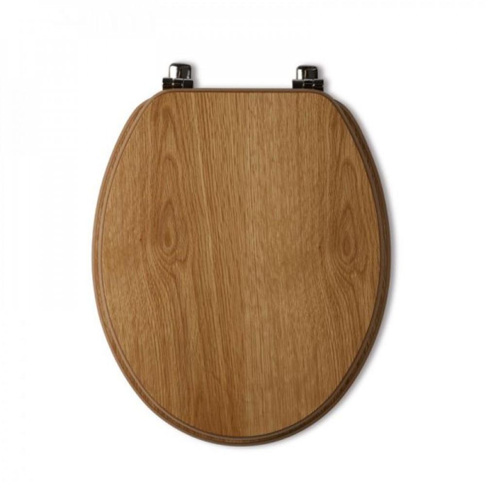 Tavistock Millennium Seat Natural Oak Chrome Hinge