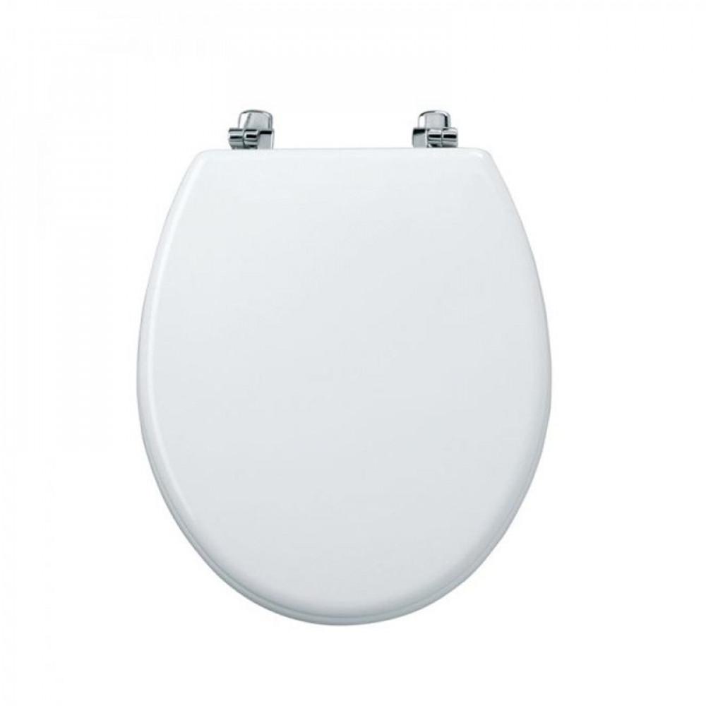 Tavistock Topaz High Gloss White Toilet Seat