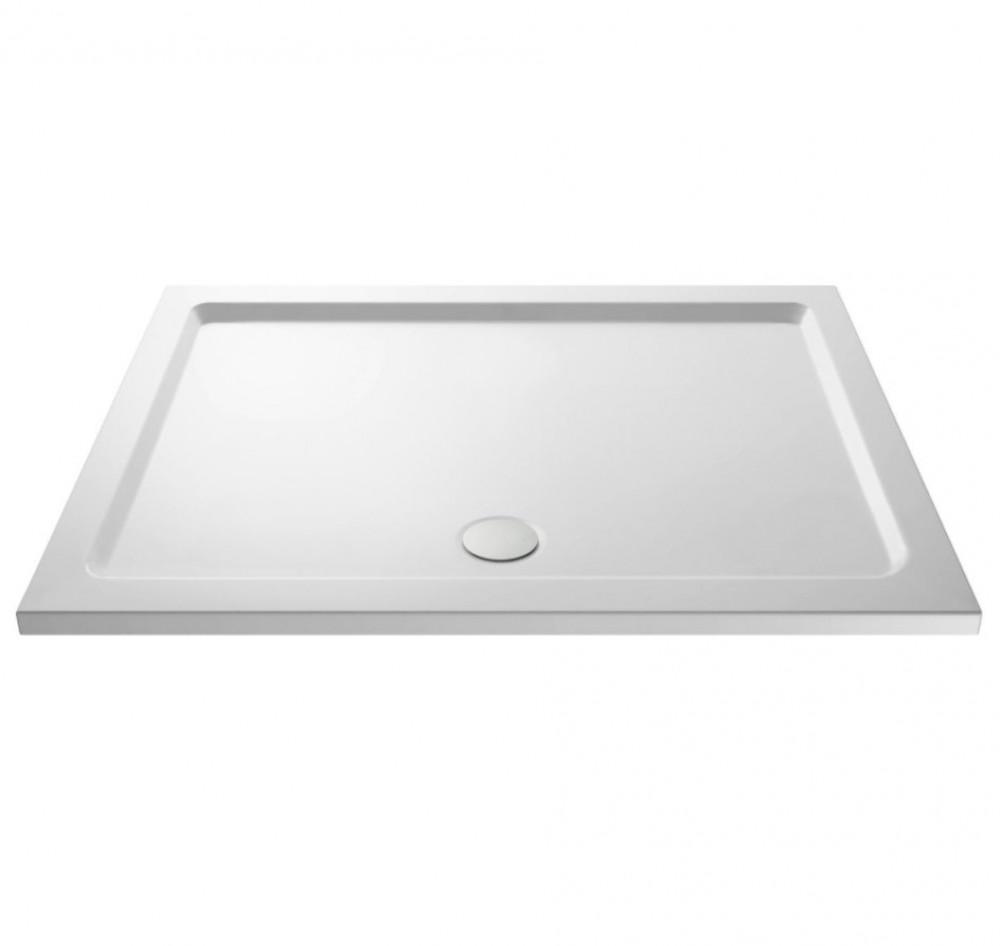 Premier Pearlstone 1000 x 800mm Rectangular Shower Tray