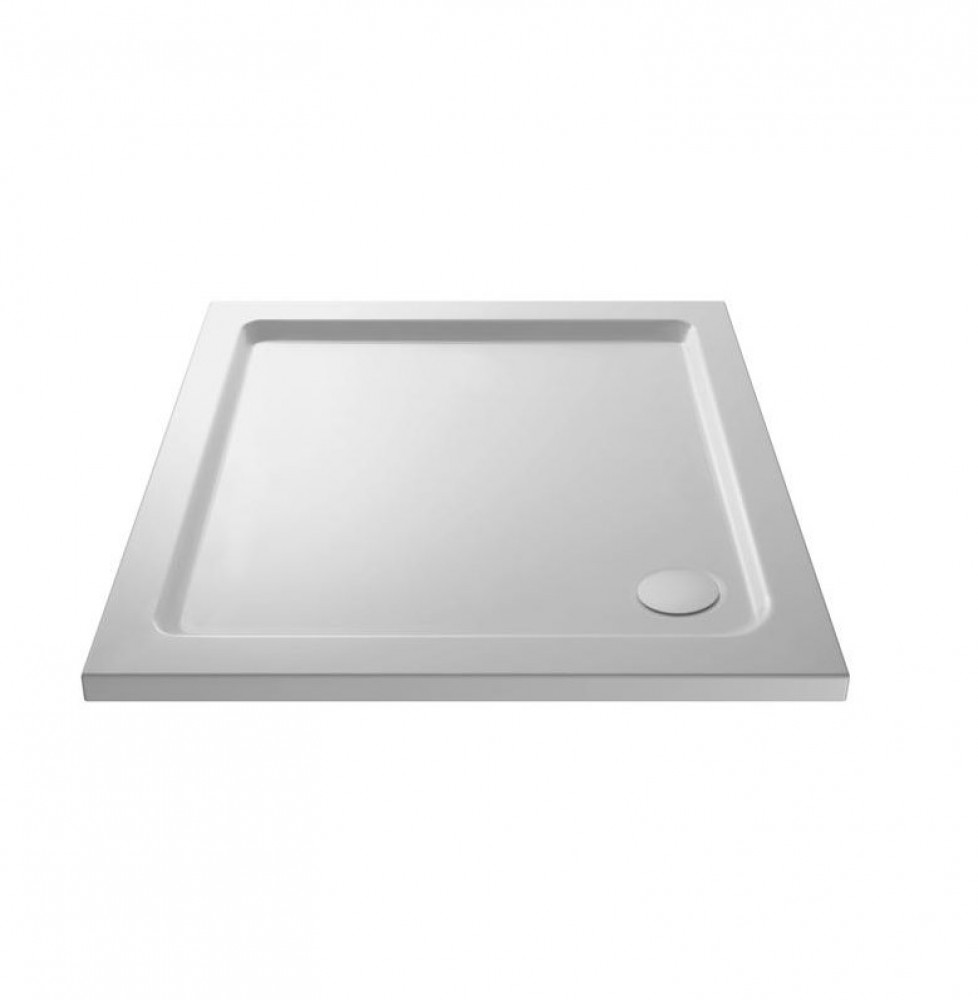 Premier Pearlstone 1100 x 800mm Rectangular Shower Tray